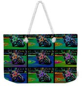 Motorcycle Road Race Weekender Tote Bag