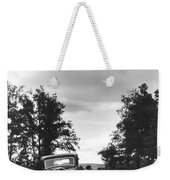 Motorist Parked By Roadside Weekender Tote Bag