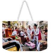 Motorized Recliners And Elvis - Nola Weekender Tote Bag