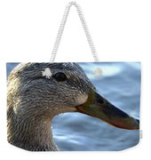 Mottled Duck Big Spring Park Crop Weekender Tote Bag