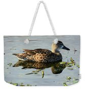 Mottled Duck Weekender Tote Bag