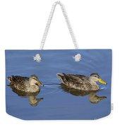 Mottled Ducks, South Padre Island, Texas Weekender Tote Bag