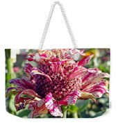 Mottled Pink Cone Flower Weekender Tote Bag