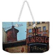 Moulin Rouge Weekender Tote Bag