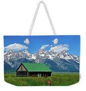Moulton Cabin Weekender Tote Bag