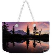 Mount Baker Sunrise Reflection Weekender Tote Bag