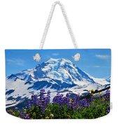 Mount Baker Wildflowers Weekender Tote Bag