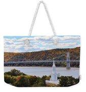 Mount Carmel And The Mid Hudson Bridge Weekender Tote Bag