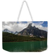 Mount Chephren From Waterfowl Lake - Banff National Park Weekender Tote Bag