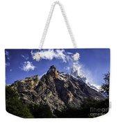 Mount Fitz Roy 3 Weekender Tote Bag