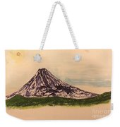 Mount Fuji And Power Of Mystery Weekender Tote Bag