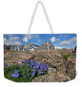 Mount Holy Cross With Wildflowers 2 Weekender Tote Bag