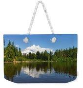 Mount Hood By Mirror Lake Weekender Tote Bag