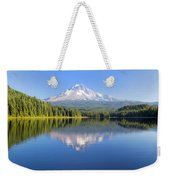 Mount Hood On A Sunny Day Weekender Tote Bag