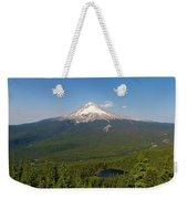 Mount Hood Over Mirror Lake Weekender Tote Bag