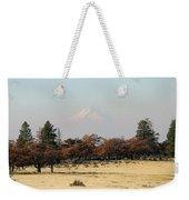 Mount Hood Over The Flats Weekender Tote Bag