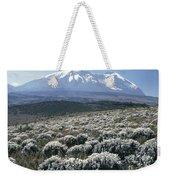 Mount Kilimanjaro, The Breach Wall Weekender Tote Bag
