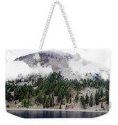 Mount Lassen Volcano In The Clouds Weekender Tote Bag