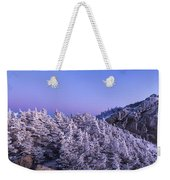 Mount Liberty Blue Hour Panorama Weekender Tote Bag