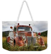 Old Fire Truck In The Mountains Weekender Tote Bag