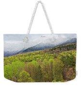 Mount Mansfield Spring Snow Weekender Tote Bag