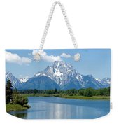 Mount Moran At Oxbow Bend Weekender Tote Bag