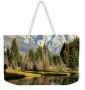 Mount Moran Reflections Weekender Tote Bag