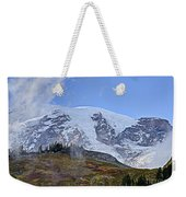 Mount Rainier 3 Weekender Tote Bag