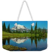 Majestic Reflection - Mount Rainier - 2 Weekender Tote Bag