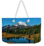 Natures Reflection - Mount Rainier Weekender Tote Bag