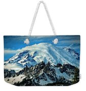 Early Snow - Mount Rainier  Weekender Tote Bag
