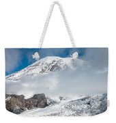 Mount Rainier Behind Clouds 3 Weekender Tote Bag
