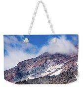 Mount Rainier Closeup Weekender Tote Bag