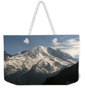 Mount Rainier Weekender Tote Bag