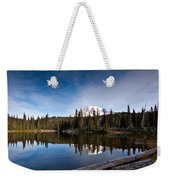 Mount Rainier Reflection Weekender Tote Bag