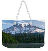 Mount Rainier Reflections Weekender Tote Bag