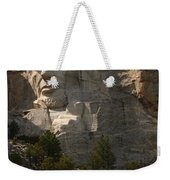 Mount Rushmoore Detail - Abraham Lincoln  Weekender Tote Bag