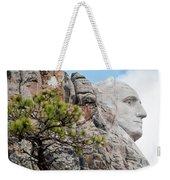 Mount Rushmore George Washington Landscape Weekender Tote Bag