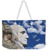 Mount Rushmore Profile Of George Washington Weekender Tote Bag