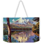 Mount Saint Helens Vintage Travel Poster Restored Weekender Tote Bag