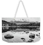 Mount Shasta From Lake Siskiyou In California Weekender Tote Bag
