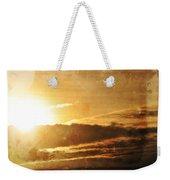 Mount Shasta Sunrise Weekender Tote Bag