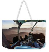 Mount Sinai Helicopter Weekender Tote Bag