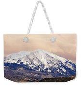 Mount Sopris Weekender Tote Bag