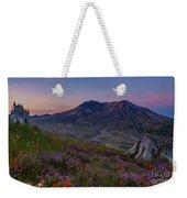 Mount St Helens Spring Colors Weekender Tote Bag