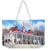 Mount Vernon After The Squall Weekender Tote Bag