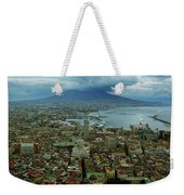 Mount Vesuvius Naples It Weekender Tote Bag