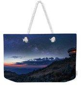 Mount Washington Summit Milky Way Panorama Weekender Tote Bag