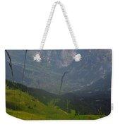 Mount Wetterhorn And The Grindelwald Weekender Tote Bag