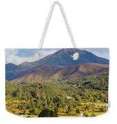 Mount Zeehan Valley Town. West Tasmania Australia Weekender Tote Bag